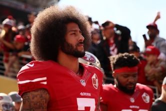 Kaepernick Begins 'Million Dollar Pledge'