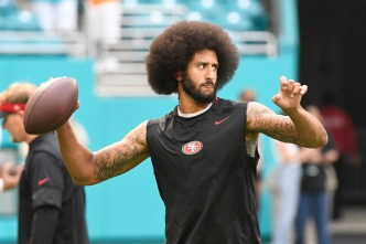 Miami Crowd Swamps Kaepernick With Boos After Castro Remarks