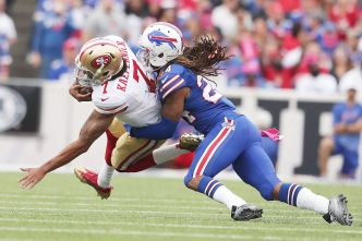 Kelly Expects to See a Sharper Kaepernick in Second Start