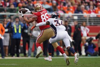Kittle's Big Game Leads 49ers Over Broncos