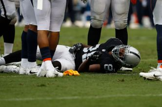 Raiders' Cooper Having Worst Season of Three-Year Career
