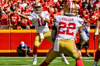 Niners' Garoppolo Thankful He Played With Brady