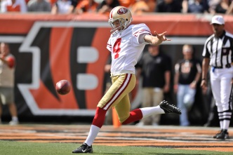 Heat Will be on Andy Lee to Keep His Punting Job
