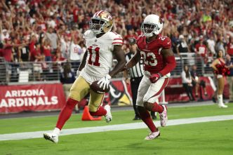 Niners Can't Hold on to Late Lead, Lose to Cardinals