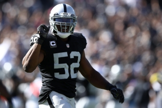 Raiders' Mack Named 2016 AP Defensive Player of the Year