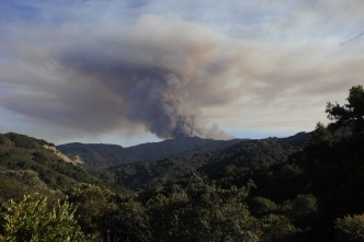 Loma Fire Scorches 1,500 Acres, Evacuations Mandatory