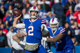 Gruden Says Nathan Peterman Is 'Growing on Me'