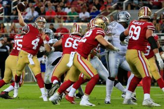 Mullens Not Set in Stone as 49ers' Starting QB