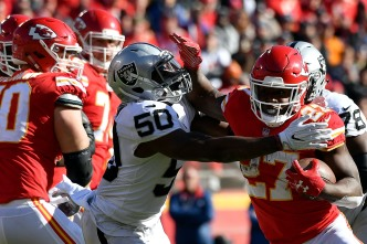 Raiders Blown Out by Chiefs in Pivotal AFC West Clash