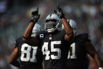 Raiders' Olawale Will Step Into Reece's Role Against Chiefs