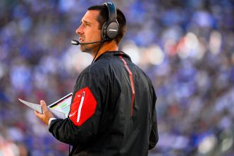 49ers 'Honing In' on Kyle Shanahan as Head Coach: Report
