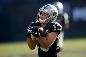Raiders Lose Rookie Wideout Hunter Renfrow
