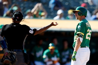 A's Swept by Astros, Losing Steak Stretches to Five