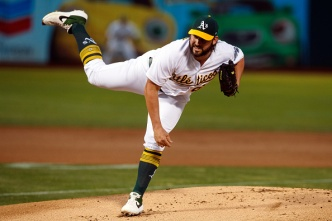A's Give Up Two in the Ninth, Fall to Royals