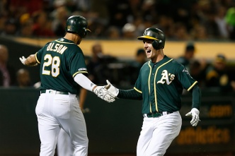 A's Take Down Mighty Yankees in Series Opener