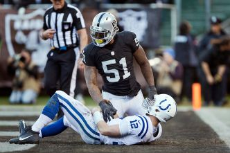 Irvin Not Certain About His Future With Raiders