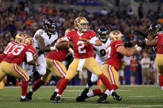 In 49ers' Offense, No. 2 QB Also Will Need to be Mobile