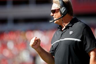 "Del Rio Says Raiders Are ""Just Getting Started"""