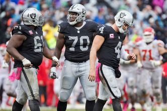 Raiders Must Face NFL's No. 1 Defense