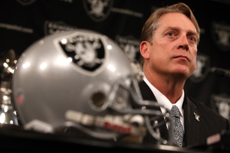 Raiders' Del Rio is Eager to Win Now, Not Later