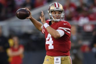 Niners' Mullens Takes His Act on the Road