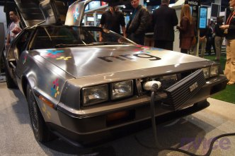 DeLorean Shows Off Its Electric Car