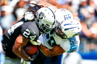 Lynch Shows Raiders and NFL He's Still in 'Beast Mode'