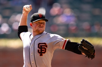 Webb, Giants Avoid Sweep Against Braves