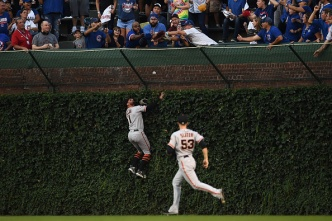 Beede, Giants Fall to Cubs in Series Opener at Wrigley