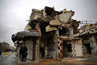 4 Years on, Ancient Heart of Homs Still Abandoned Ruins