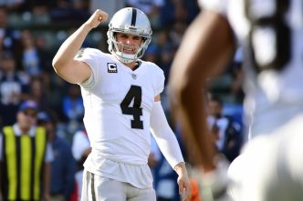 Raiders' Carr Showing His Skills at the Pro Bowl