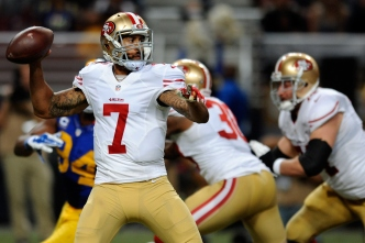 For Now at Least, 49ers Teammates Say Kaepernick Situation is not a Distraction
