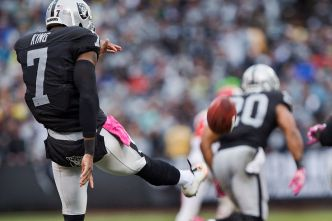 Raiders' Punter was King for a Day in Victory over Jaguars