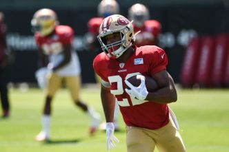 Niners' Breida is Happy to Share the Load With Coleman