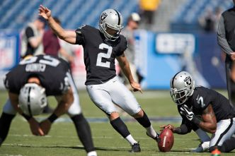 Finding the Right Kicker Now Becomes Important for Raiders