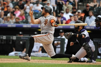 Giants Bats Stay Hot in Win Over Rockies