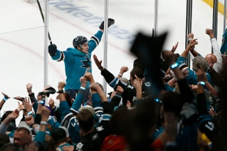 Sharks Rally For Wild Game 7 Win Over Vegas in Overtime
