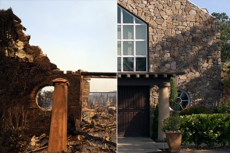 Before and After Images Show Wine Country Fires' Devastation