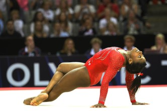 Simone Biles is Flawless On And Off the Floor