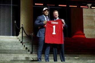 Thomas Building Momentum Toward 49ers Debut