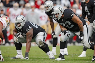 Raiders' Offensive Line May be Team's Undervalued Strength