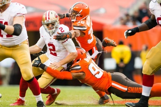 Offensive Line Woes in Cleveland Point to 49ers' Weakest Links