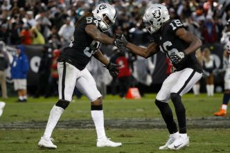 With Crabtree and Cooper Out, Carr Will Have New Targets