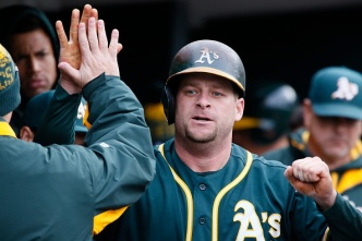 A's Vogt Named as AL Reserve For All-Star Game