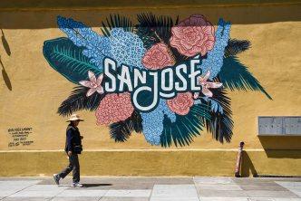Artist Celebrates San Jose City Logo With a Mural