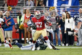 Rookie Greenlaw Shows 49ers He's Up to New Starting Role