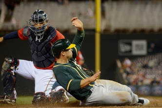 Twins Rout A's After Three-Hour Rain Delay