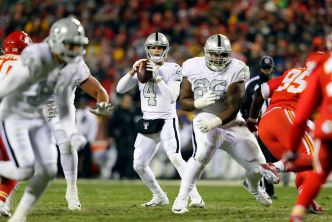 Raiders Need Carr to Bounce Back Versus Chargers