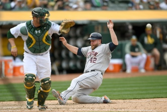 A's Blow Five-Run Lead, Lose 10-6 to Astros