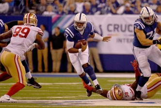 49ers Force OT, But Still Winless After Loss to Colts